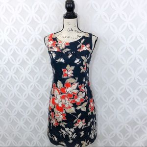 Ann Taylor Petite Floral Sheath Dress